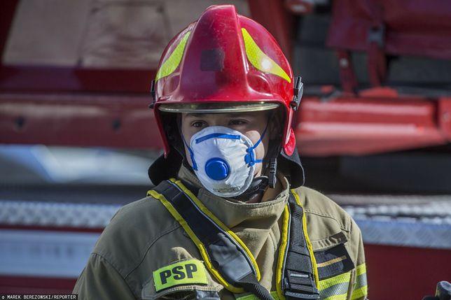 Prudnik. Piaty pożar kamienicy socjalnej (zdjęcie ilustracyjne)
