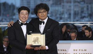 """""""Parasite"""" otrzymał Złotą Palmę na festiwalu w Cannes w 2019 r."""