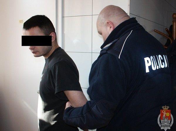 Makabra na Mokotowie. 30-latek chciał zabić ojca