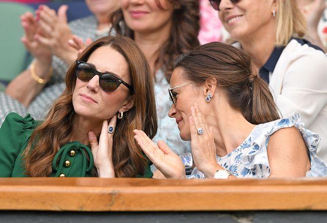 Pippa i Kate Middleton na Wimbledonie