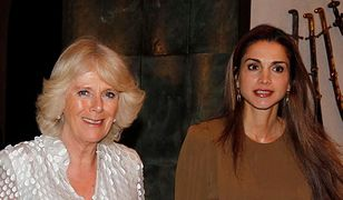 Camilla Parker-Bowles, królowa Rania