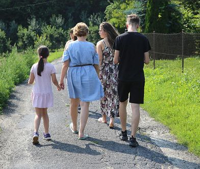 Katarzyna jest mamą zastępczą dla pięciorga dzieci