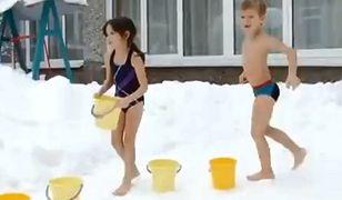 Dzieci na Syberii od małego są hartowane