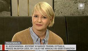 """""""Kobiety poczuły się zlekceważone"""". Kożuchowska apeluje, aby nie wychodzić na ulice"""
