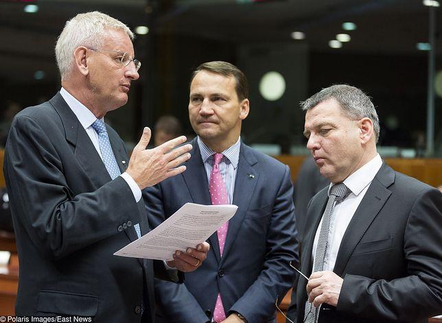 Carl Bildt, Radosław Sikorski i Lubomir Zaoralek