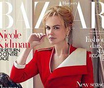 "Nicole Kidman na okładce ""Harper's Bazaar"""
