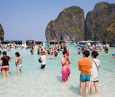 Turyści doprowadzili do obumarcia rafy koralowej