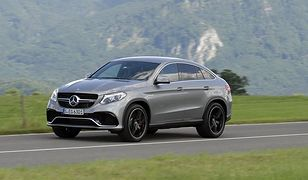 Mercedes-Benz GLE Coupe: mocny konkurent BMW X6