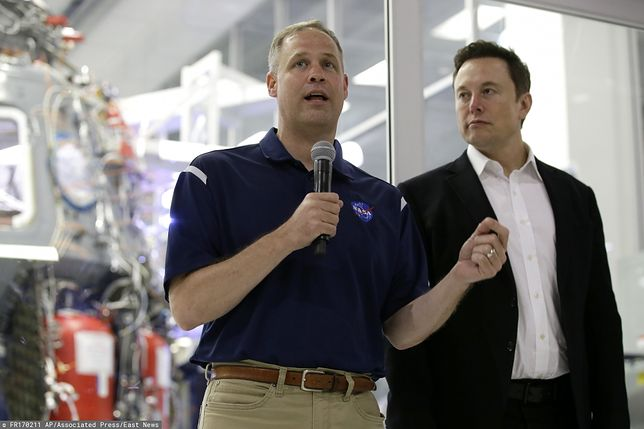 Elon Musk i Jim Bridenstine