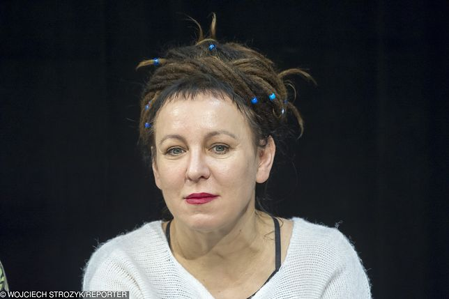 Olga Tokarczuk z Nagrodą Nobla