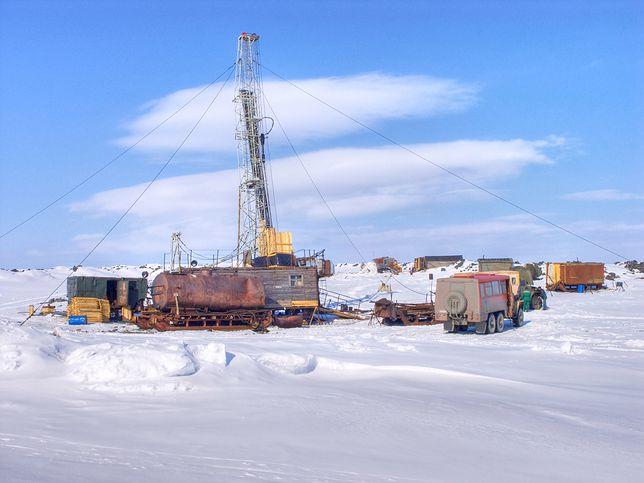 Wiercenia badawcze na północy Rosji