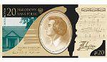 Banknoty z Chopinem na internetowej aukcji
