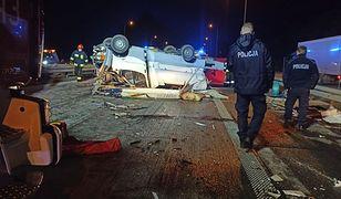 Studzianki. Śmiertelny wypadek na S8. Zginęła kobieta. Jej mąż i dzieci są ranni
