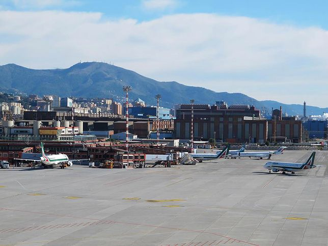 Płyta portu lotniczego Genua