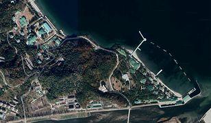 Kompleks pałacowy Kim Dzong Una w Wonsan