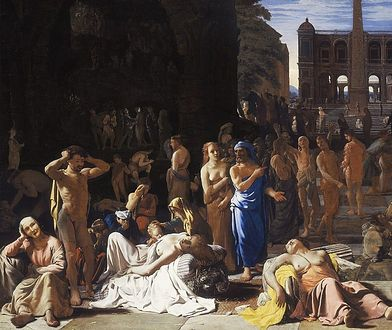 Zaraza ateńska na obrazie Michiela Sweertsa