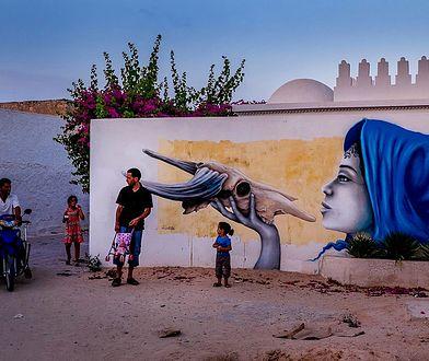 Jedna z prac, która powstała w ramach projektu Djerbahood