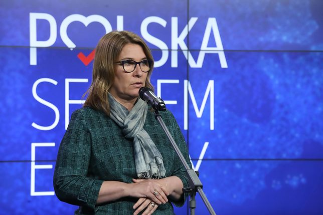 Beata Mazurek była też rzeczniczką PiS