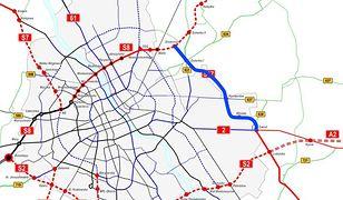 Znamy trasę Wschodniej Obwodnicy Warszawy