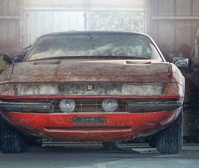 Ferrari Daytona znalezione w stodole