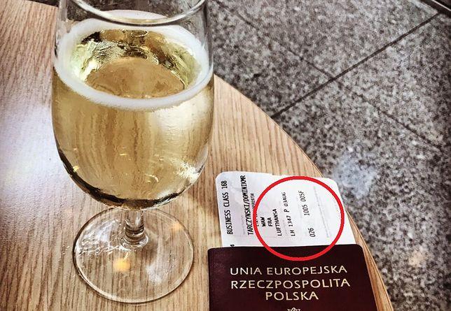 """Tarczyński pochwalił się zdjęciem biletu do """"Miami"""". Internauci sprawdzili numer lotu"""