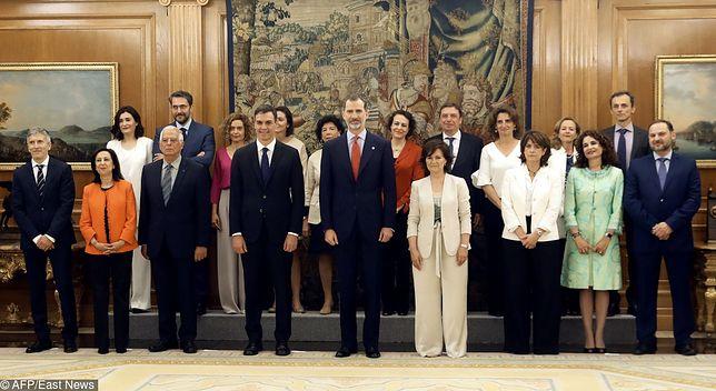 Nowy rząd Hiszpanii został zaprzysiężony w czwartek