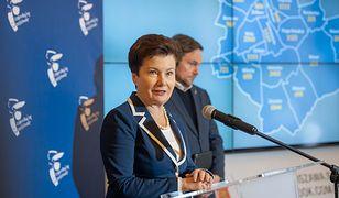 Hanna Gronkiewicz-Waltz poinformowała o liczbie dopisanych wyborców na środowej konferencji
