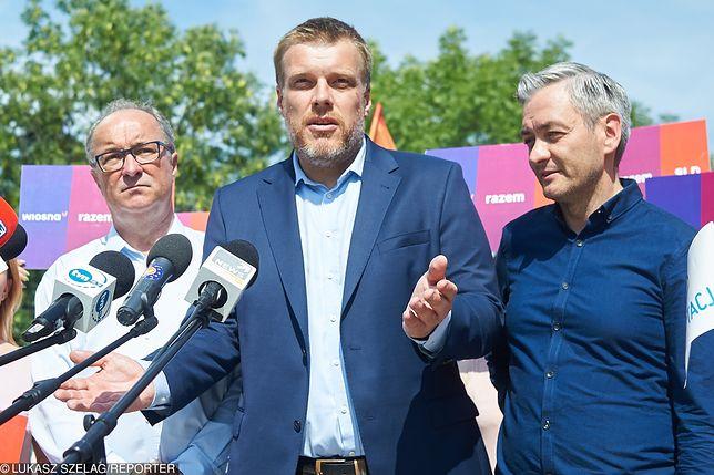 Wybory parlamentarne 2019. Włodzimierz Czarzasty, Adrian Zandberg i Robert Biedroń. Lewica ma wystawić wspólnych kandydatów w wyborach do parlamentu