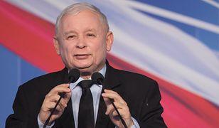 Prezes PiS Jarosław Kaczyński