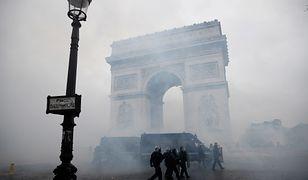 Ogromne zniszczenia w Paryżu