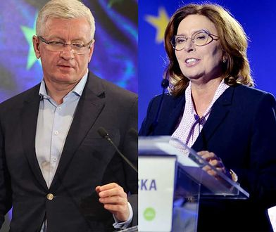 Jacek Jaśkowiak i Małgorzata Kidawa-Błońska.