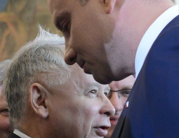 Tajne spotkanie Andrzeja Dudy i Jarosława Kaczyńskiego bez Beaty Szydło