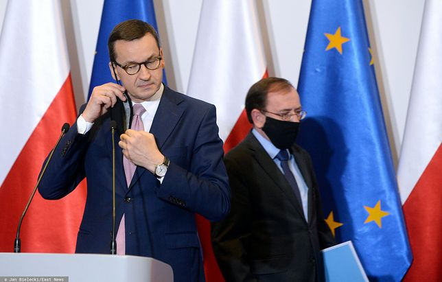Sylwester 2020. Jakie obostrzenia? Premier Mateusz Morawiecki i szef MSWiA Mariusz Kamiński