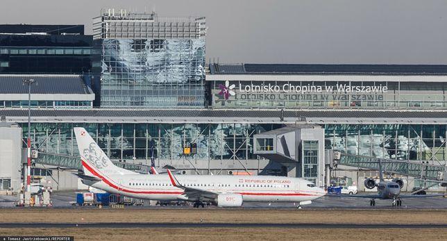 Alarm bombowy na Lotnisku Chopina
