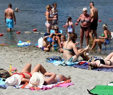 Kryspinów. Atak na plaży nudystów. Sprawca nadal poszukiwany