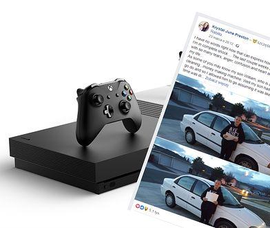 Młody chłopak sprzedał Xboxa