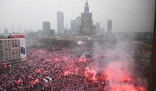 Marsz 11 listopada w Warszawie