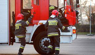 Pożar i ewakuacja w przedszkolu w Wadowicach