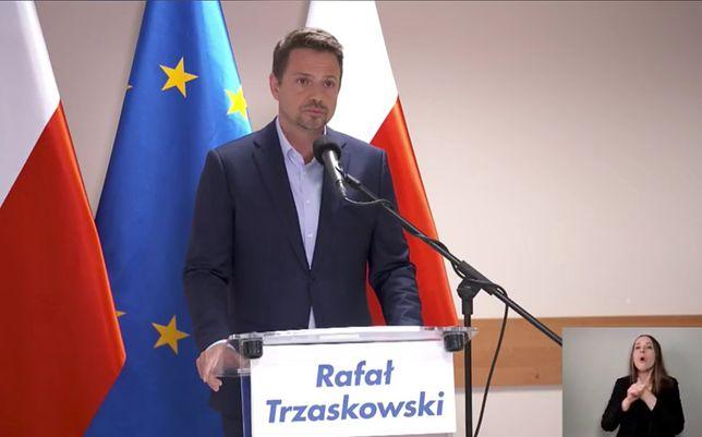 Warszawa. Rafał Trzaskowski o wypadku autobusu na Bielanach