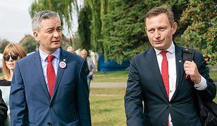 Robert Biedroń i Paweł Rabiej