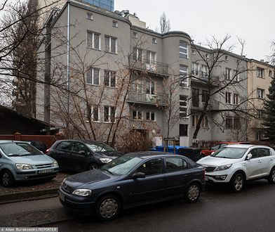 Warszawa. Kamienica przy ul. Nabielaka 9, w której mieszkała Jolanta Brzeska