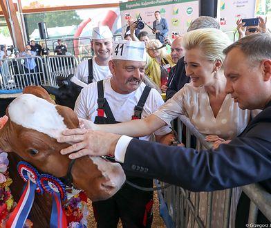 Para Prezydencka na Targach Rolno-Przemysłowych