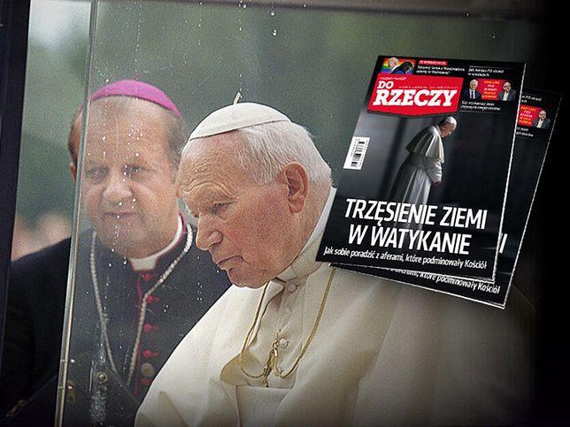 Stanisław Dziwisz i Jan Paweł II