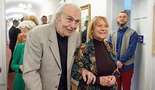 Tadeusz Pluciński i Jolanta Wołłejko, 2018 r.