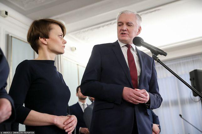 Jadwiga Emilewicz, Jarosław Gowin