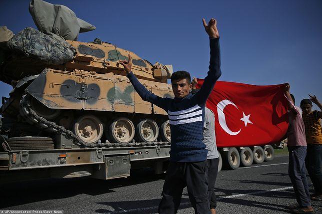 Ofensywa Turcji trwa od środy