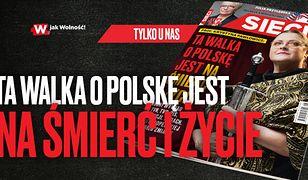Posłanka PiS zapowiada walkę o Polskę