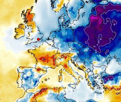 """Pogoda znów wariuje. Nadciąga """"bomba chłodu"""". Wraca mróz i śnieg"""