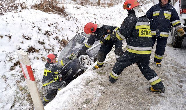 Odszkodowanie za kolizję na nieodśnieżonej lub oblodzonej drodze