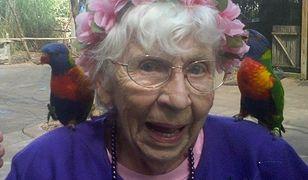 Marzeniem 94-latki był występ w telewizji. Jak wykorzystała swoje 5 sekund na ekranie?